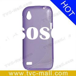 S Curve TPU Case Cover for HTC Desire V T328W