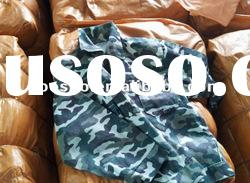 Second hand used clothes bags belts uniform clothes for Africa