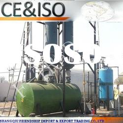 The latest generation model of WJ-9 waste tyre recycling fuel oil equipment