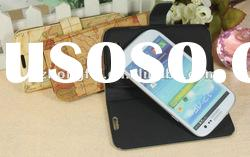 Top Quality&Good hand feelings, for Samsung Galaxy s3 Luxury Leather Mobile Phone Case