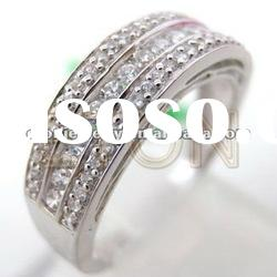 Wholesale factory handmade lead and nickle free fashion 925 sterling silver ring jewelry (R5361)