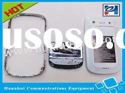 With trackpad and flex white color mobile phone housings for BlackBerry curve 9900