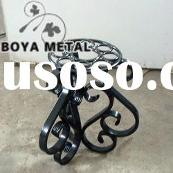 Wrought Iron Cast Steel Metal Chair