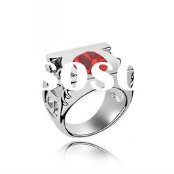 (062138) 2012 hot sale sterling silver wedding ring