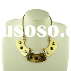 (JAN. New Arrival) Chunky Fashion Collar Necklace, New Design Ladys Necklace 2012