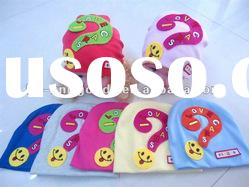 baby cap 2012 with high quality acrylic material