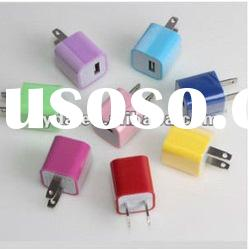 colorful mini USB charger for iphone ipod