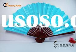 first class blank bamboo hand fans as business gift