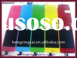 for iphone 4G colored LCD digitizer assembly and back cover, conversion kits for iPhone 4