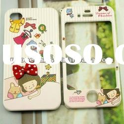 for iphone 4 4s lovely cartoon double sided protective case