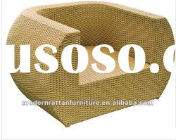 high quality Outdoor PE Rattan leisure garden dining Chair