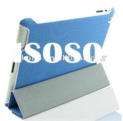 high quality hot sales canvas leather case for new ipad,leather case for ipad 3