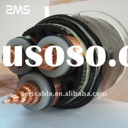 high voltage XLPE insulated steel tape armored power cable