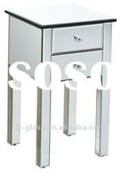 home decoration mirrored bedside table---JESSIE
