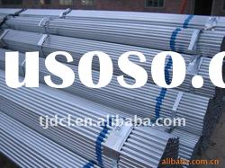 hot rolled carbon galvanized steel tube