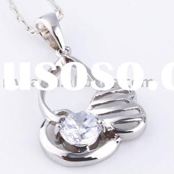 hot sale newest 27x15mm fashion 100% 925 sterling silver fashion bag pendant
