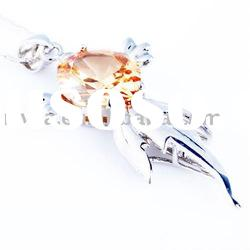 hot sale newest 44x18mm fashion 100% 925 sterling silver pendant