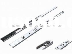 hot sale top quality 45mm 3-fold #3045-05 full extension ball bearing drawer slide furniture fitting