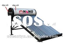 hot selling integrated unpressurized solar water heater