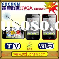 i5000 Latest Super Slim Touch Screen Mobile phone with MT6235 Chipset,WiFi, Java,Dual Camera