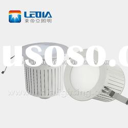 led downlight housing.AC100-240V.33W.CE ROHS Approval.good heat dissipation.heat conduction