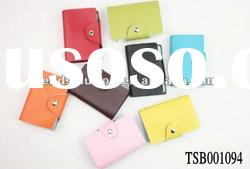 new arrival hot sale various colors genuine leather card holder