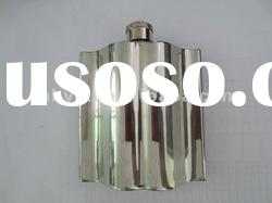 new design high quality stainless steel hip flask