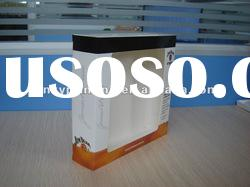 paper packaging box with PVC window