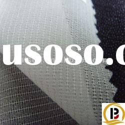 polyester woven knitted fusible interlining for ladies wear