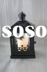 solar led wind up lantern