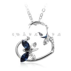 swarovski element pendant Crystal Necklace, crystal jewelry with high qulity