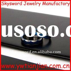 top design hot sale charming stainless steel jewelry ring(SSR-092)