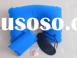 u shape inflatable travel comfort neck pillow