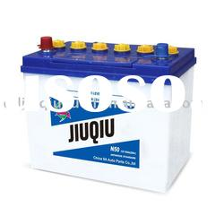 12V 65ah JIS Standard lead acid dry car battery
