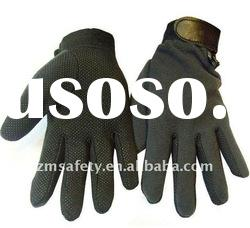 2011 High quality and comfortable polar fleece safety gloves