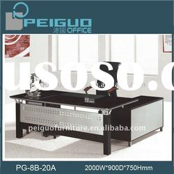 2011#(PG-8B-20A)Newest High Quality Wooden office table design