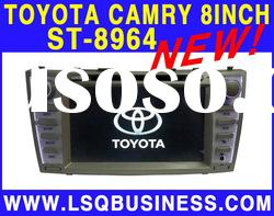 2 Din 8 inch Toyota Camry Car DVD Player with GPS Navigation system! hot selling!