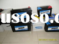 DIN Standard dry charged lead acid car battery
