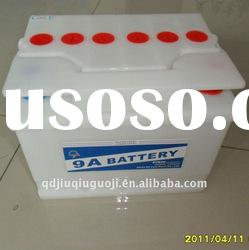 DIN dry charged lead acid battery