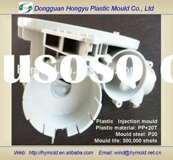 Dishwasher plastic injection mould and part