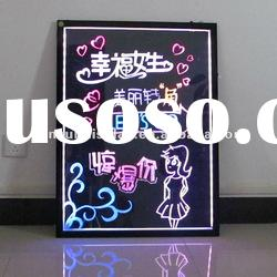 Full color 5050 Led fluorescent writing board
