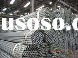Galvanized pipe according to ASTM A53