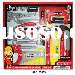 Kid plastic tool set toy ATC130869