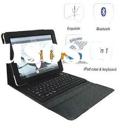 NEW Foldable Leather Case Bluetooth Wireless Keyboard For iPad 2