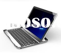 New Bluetooth Aluminum Keyboard and Case for Samsung Galaxy Tab 10.1 P7510 P7500