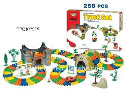 Plastic electronic building block toy set BZC103058