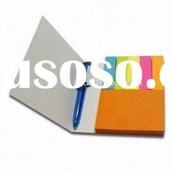 Sticky Note Book with Pen Measures 75 x 100mm
