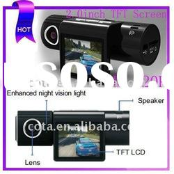 Unique Voice Guidance Mini DVR Camera With Rotatable Lens & Night Vision Function CT-Q7
