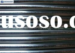 Welded stainless steel tube and pipe mill finish
