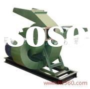 Wood crusher, wood chipper, combined wood chipping and crushing machine